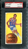 1970/71 Topps Basketball #155 Hal Greer PSA 8 (NM-MT) *2737