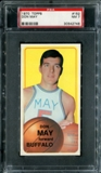 1970/71 Topps Basketball #152 Don May PSA 7 (NM) *2748