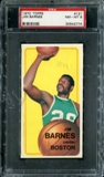 1970/71 Topps Basketball #121 Jim Barnes PSA 8 (NM-MT) *2774
