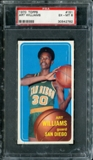 1970/71 Topps Basketball #151 Art Williams PSA 6 (EX-MT) *2782