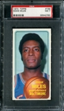 1970/71 Topps Basketball #159 Eddie Miles PSA 7 (NM) *2783