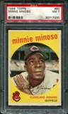 1959 Topps Baseball #80 Minnie Minoso PSA 7 (NM) *7230