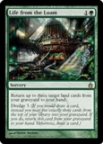Magic the Gathering Ravnica Single Life from the Loam - SLIGHT PLAY (SP)