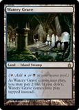 Magic the Gathering Ravnica Single Watery Grave - SLIGHT PLAY (SP)