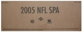2005 Upper Deck SP Authentic Football Hobby 12-Box Case