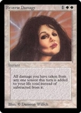 Magic the Gathering Beta Single Reverse Damage - MODERATE PLAY (MP)