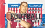 2005 Topps All American Retired Edition Football Hobby Box