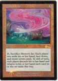 Magic the Gathering Urza's Legacy Single Memory Jar FOIL