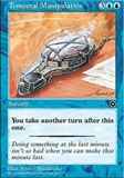 Magic the Gathering Portal 2 Single Temporal Manipulation UNPLAYED (NM/MT)