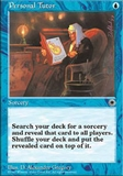 Magic the Gathering Portal 1 Single Personal Tutor - SLIGHT PLAY (SP)