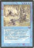 Magic the Gathering Legends Single Invoke Prejudice - MODERATE PLAY (MP)