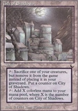 Magic the Gathering Dark Single City of Shadows - NEAR MINT (NM)