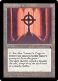 Magic the Gathering Dark Single Tormod's Crypt LIGHT PLAY (NM)