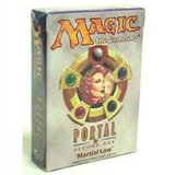 Magic the Gathering Portal 2: Second Age Martial Law Theme Deck