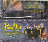 Buffy The Vampire Slayer Season 4 Hobby Box (InkWorks)