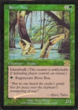 Magic the Gathering 6th Edition Single River Boa Foil (Promo)