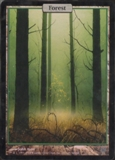 Magic the Gathering Unhinged Single Forest Foil - NEAR MINT (NM)