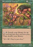 Magic the Gathering Nemesis Single Skyshroud Poachers Foil