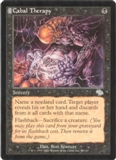 Magic the Gathering Judgment Single Cabal Therapy - SLIGHT PLAY (SP)