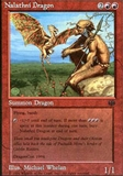 Magic the Gathering Promo Single Nalathni Dragon LIGHT PLAY (NM)