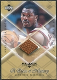 1999/00 Upper Deck Black Diamond A Piece of History #HO Hakeem Olajuwon