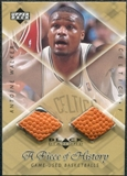 1999/00 Upper Deck Black Diamond A Piece of History Double #AW Antoine Walker