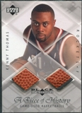 1999/00 Upper Deck Black Diamond A Piece of History Double #KT Kenny Thomas