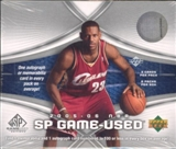 2005/06 Upper Deck SP Game Used Basketball Hobby Box
