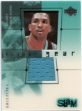 2000/01 Upper Deck Slam Flight Gear #SAG Shareef Abdur-Rahim