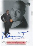 2000/01 Upper Deck Ovation Super Signatures #MF Marcus Fizer Autograph