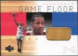 2000/01 Upper Deck Hardcourt Game Floor #AIF Allen Iverson