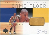 2000/01 Upper Deck Hardcourt Game Floor #RGF Reggie Miller