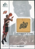 2000/01 Upper Deck SP Game Floor Authentic Floor #DE Desmond Mason