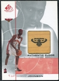 2000/01 Upper Deck SP Game Floor Authentic Floor #DJ DerMarr Johnson