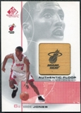 2000/01 Upper Deck SP Game Floor Authentic Floor #EJ Eddie Jones