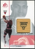 2000/01 Upper Deck SP Game Floor Authentic Floor #FI Marcus Fizer
