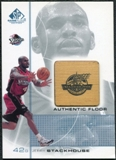 2000/01 Upper Deck SP Game Floor Authentic Floor #JS Jerry Stackhouse