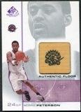 2000/01 Upper Deck SP Game Floor Authentic Floor #MP Morris Peterson