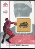 2000/01 Upper Deck SP Game Floor Authentic Floor #QR Quentin Richardson