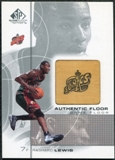 2000/01 Upper Deck SP Game Floor Authentic Floor #RL Rashard Lewis