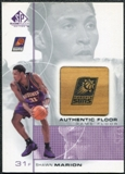 2000/01 Upper Deck SP Game Floor Authentic Floor #SH Shawn Marion