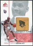 2000/01 Upper Deck SP Game Floor Authentic Floor #SM2 Stephon Marbury