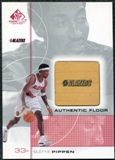 2000/01 Upper Deck SP Game Floor Authentic Floor #SP Scottie Pippen