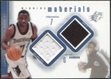2000/01 Upper Deck SPx Winning Materials #TB1 Terrell Brandon Game Jersey/Warm-Up