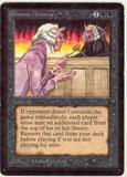 Magic the Gathering Beta Single Demonic Attorney - SLIGHT PLAY (SP)