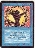 Magic the Gathering Alpha Single Spell Blast - MODERATE PLAY (MP)