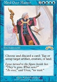 Magic the Gathering Exodus Single Mind Over Matter - SLIGHT PLAY (SP)