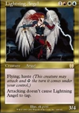 Magic the Gathering Apocalypse Single Lightning Angel - NEAR MINT (NM)
