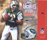 2001 Topps Archives Reserve Football Hobby Box