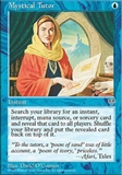 Magic the Gathering Mirage Single Mystical Tutor UNPLAYED (NM/MT)